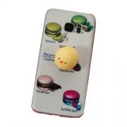 Θήκη Σιλικόνης TPU Σχέδιο 3D για Samsung Galaxy S7 edge SM-G935 - Macaroon