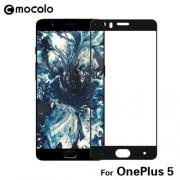 MOCOLO Σκληρυμένο Γυαλί (Tempered Glass) Προστασίας Οθόνης Πλήρης Κάλυψης για  OnePlus 5 - Μαύρο