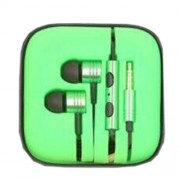 Xiaomi Mi3 Metal Pistons Universal In-ear Earphone with Mic - Green