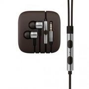Xiaomi Mi3 Στερεοφωνικά Ακουστικά με Μικρόφωνο για Όλα τα Smartphones και Tablets - Ασημί (A02395-02)