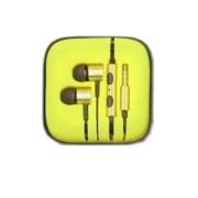 Xiaomi Mi3 Στερεοφωνικά Ακουστικά με Μικρόφωνο για Όλα τα Smartphones και Tablets - Κίτρινο (A02395-07)