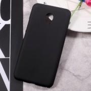 Matte Skin Soft TPU Protection Phone Case for Meizu m5 - Black