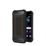 Armor Guard Plastic + TPU Hybrid Case for Huawei P10 Plus - Black