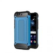 Tough Armor Υβριδική Θήκη Συνδυασμού Σιλικόνης και Πλαστικού για Huawei P10 Plus - Μπλε