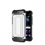 Armor Guard Plastic + TPU Hybrid Phone Case for Huawei P10 - Silver