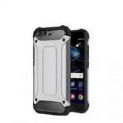 Armor Guard Plastic + TPU Hybrid Case Shell for Huawei P10 - Grey
