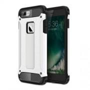 Tough Armor Υβριδική Θήκη Συνδυασμού Σιλικόνης και Πλαστικού για iPhone 7 Plus - Λευκό