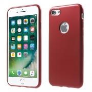 Σκληρή Θήκη από Καουτσούκ για iPhone 7 - Κόκκινο