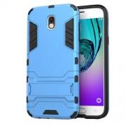 Θήκη Σιλικόνης TPU σε Συνδυασμό με Πλαστικό και Βάση Στήριξης για Samsung Galaxy J5 (2017) Ευρωπαϊκή Έκδοση - Μπλε