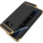 IPAKY 3 σε 1 Electroplating Θήκη Σκληρή για Samsung Galaxy S8 Plus G955 - Μαύρο