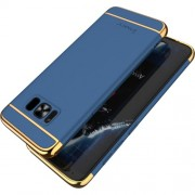 IPAKY 3 σε 1 Electroplating Θήκη Σκληρή για Samsung Galaxy S8 G950 - Μπλε