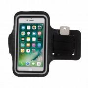Θήκη Βραχίονα για Σπορ για iPhone 7 Διαστάσεις 150 x 80mm - Μαύρο