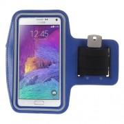 Θήκη Βραχίονα για Σπορ για Κινητά όπως Samsung Galaxy Note 4 N910 / Note 3 N9000 / Galaxy A7 SM-A700F - Μπλε