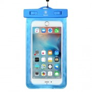 Baseus Universal 30m Waterproof Bag for iPhone 7 plus / Huawei P10 Plus Etc. within 5.5 Inch - Blue