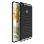 IPAKY Υβριδική Θήκη Συδυασμού Σιλικόνης TPU και Πλαστικού για Xiaomi Mi Max 2 - Γκρι/Μαύρο