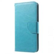 Δερμάτινη Θήκη Πορτοφόλι με Βάση Στήριξης με για iPhone 6 Plus / 6s Plus - Μπλε