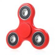 Fidget Spinner Παιχνίδι Αντιστρες από Υλικό ABS με Τρεις Έλικες (Χρόνος περιστροφής 2 Λεπτά) - Κόκκινο