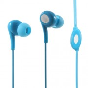 LANGSTON JD-91 In-ear Headphone with Mic for iPad iPhone Samsung - Blue