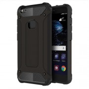 Armor Guard Plastic + TPU Hybrid Case for Huawei P10 Lite - Black