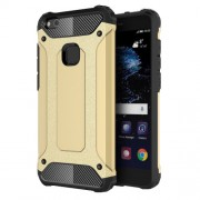 Armor Guard Plastic + TPU Hybrid Case Phone Shell for Huawei P10 Lite - Gold