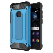 Armor Guard Plastic + TPU Combo Shell Case for Huawei P10 Lite - Baby Blue