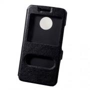 Δερμάτινη Θήκη Πορτοφόλι Smart Cover με Βάση Στήριξης για Motorola Moto G5 - Μαύρο