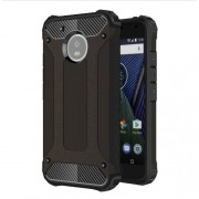 Armor Guard Plastic + TPU Hybrid Case for Motorola Moto G5 - Black