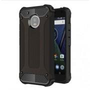 Tough Armor Υβριδική Θήκη Σιλικόνης TPU σε Συνδυαμό με Πλαστικό για Motorola Moto G5 - Μαύρο