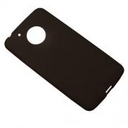 Θήκη Σιλικόνης TPU Ματ για Motorola Moto G5 - Μαύρο
