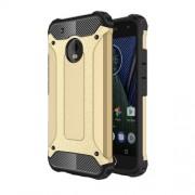 Tough Armor Υβριδική Θήκη Σιλικόνης TPU σε Συνδυαμό με Πλαστικό για Motorola Moto G5 Plus - Χρυσαφί