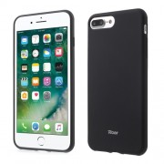 ROAR KOREA Θήκη Σιλικόνης TPU Ματ για iPhone 7 Plus / 8 Plus - Μαύρο