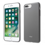 ROAR KOREA All Day Colorful Jelly Case TPU Cover for iPhone 7 Plus - Grey
