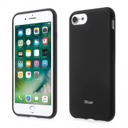 ROAR KOREA Θήκη Σιλικόνης Σιλικόνης TPU Ματ για iPhone 7 - Μαύρο