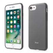 ROAR KOREA Θήκη Σιλικόνης Σιλικόνης TPU Ματ για iPhone 7 - Γκρι