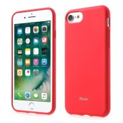 ROAR KOREA Θήκη Σιλικόνης Σιλικόνης TPU Ματ για iPhone 7 - Κόκκινο