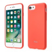 ROAR KOREA Θήκη Σιλικόνης Σιλικόνης TPU Ματ για iPhone 7 - Πορτοκαλί