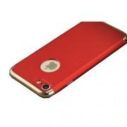 IPAKY Σκληρή Λεπτή Θήκη 3 σε 1 Electroplating για iPhone 8 / 7 - Κόκκινο