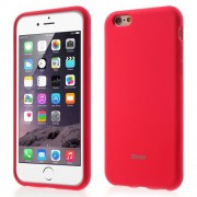 ROAR KOREA Colorful Jelly Matte TPU Case Cover for iPhone 6s/6 - Red