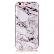 Θήκη Σιλικόνης TPU Σχέδιο Μάρμαρο για iPhone 6s / 6 - Λευκό
