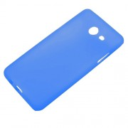 Matte Skin TPU Gel Case Phone Cover for Samsung Galaxy J5 (2017) - Blue