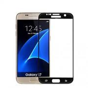 Σκληρυμένο Γυαλί (Tempered Glass) Προστασίας Οθόνης Πλήρης Κάλυψης (Ιαπωνικό Γυαλί Asashi) για Samsung Galaxy S7 G930 - Μαύρο