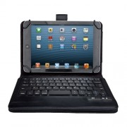 Seenda IS11-U7 Bluetooth Keyboard Leather Stand Case for iPad Mini 2 / Galaxy Tab 7.0 8.0 eEtc.