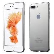 Θήκη Σιλικόνης TPU Πολύ Λεπτή Ημιδιάφανη για iPhone 7 Plus - Διάφανο