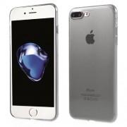 Θήκη Σιλικόνης TPU Πολύ Λεπτή Ημιδιάφανη για iPhone 7 Plus - Γκρι