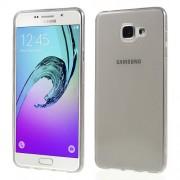 Glossy TPU Cover Non-slip Inside for Samsung Galaxy A7 SM-A710F - Grey