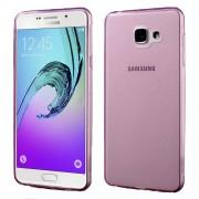 Glossy TPU Skin Case Cover for Samsung Galaxy A7 SM-A710F (2016) - Rose