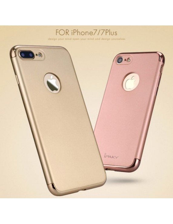 los angeles 305ed f8384 IPAKY 3-in-1 Electroplating Hard PC Back Cover for iPhone 7 4.7 inch - Rose  Gold (50008378) by stoucky.gr