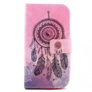 Leather Stand Flip Cover for Samsung Galaxy S3 I9300 - Dream Catcher Feather