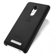 LENUO Music Case II Σκληρή Θήκη Λεπτή με Επένδυση Δέρματος για Xiaomi Redmi Note 3 Pro Special Edition - Μαύρο