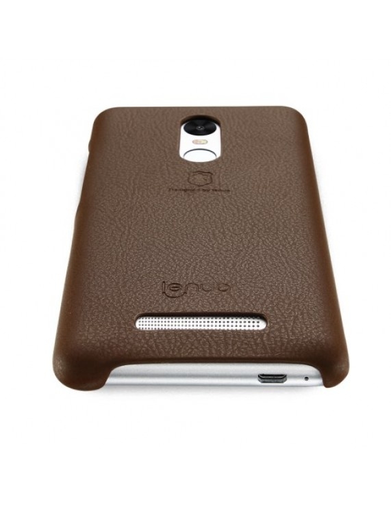 super popular f64ac 90a8b LENUO Music Case II for Xiaomi Redmi Note 3 Pro Special Edition Leather  Skin Hard Back Phone Cover - Brown (50008453) by stoucky.gr